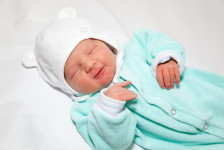 Lucas David kurz nach der Geburt