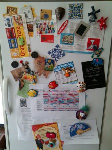 Kühlschrank zu